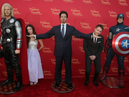 "Madame Tussauds Hollywood Bring Figures For ""Avengers: Age Of Ultron"" Premiere"