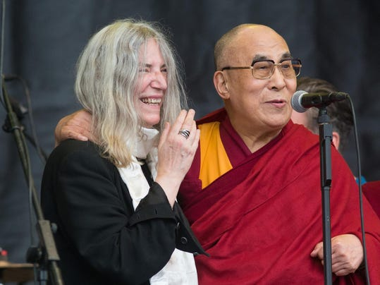 Dali Lama, Patti Smith