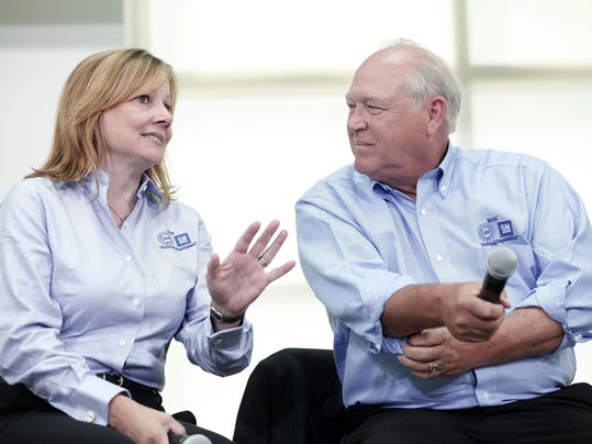 GM CEO Mary Barra And UAW Leaders Launch Union Talks