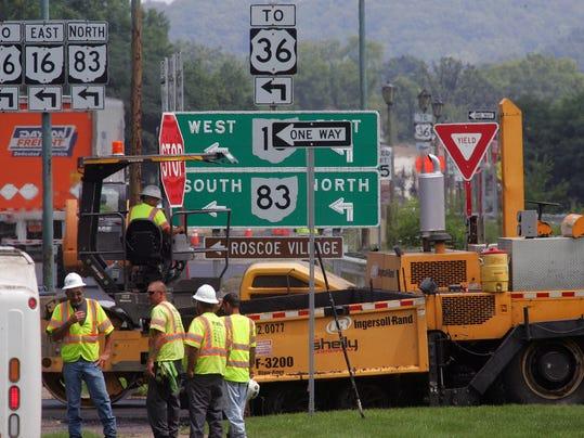 Ohio 541 paving