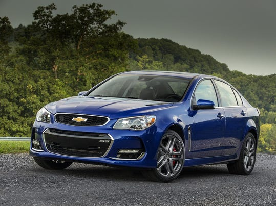 The 2016 Chevrolet SS sedan gets even bolder with new-design 19-inch ...