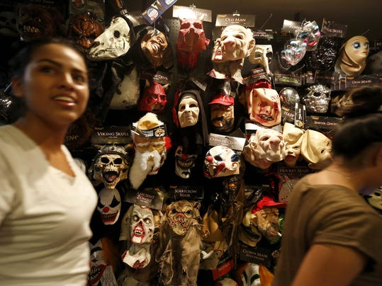 Americans are expected to spend $6.9 billion on Halloween this year