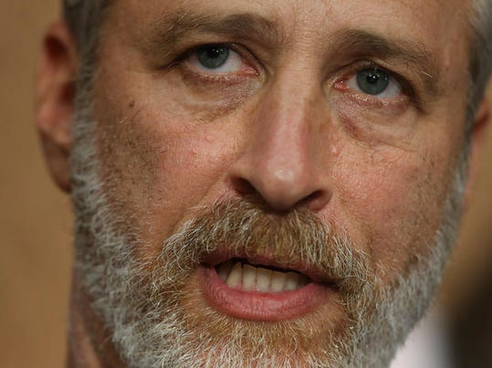Jon Stewart Appears On Capitol Hill To Support The James Zadroga 9/11 Health and Compensation Reauthorization Act