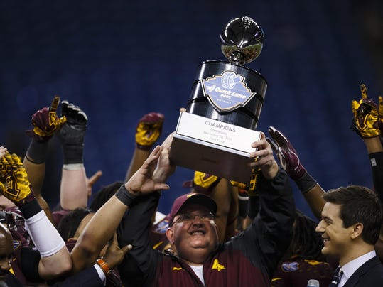 NCAA Football: Quick Lane Bowl-Central Michigan vs Minnesota