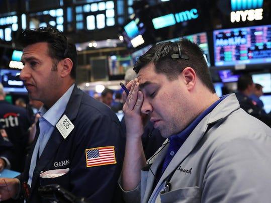 """BESTPIX U.S. Markets React To Historic """"Brexit"""" Vote In UK"""