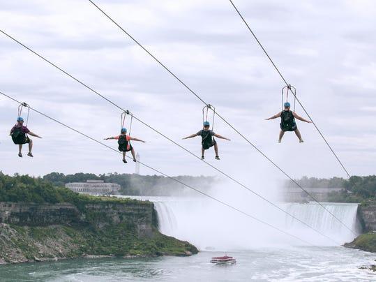 Zipping Over Niagara (2)