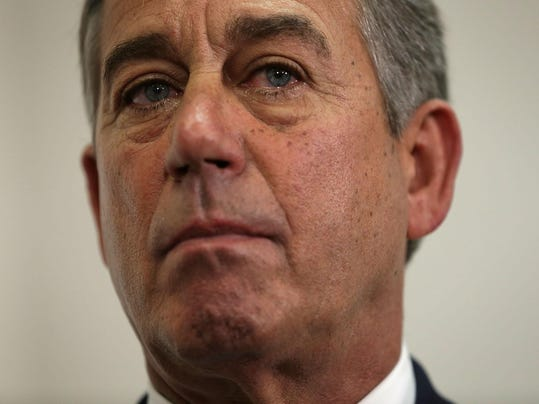 Boehner, House Leaders Hold Press Conference At The Capitol
