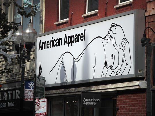 American Apparel Files For Bankruptcy Protection For Second Time In !3 Months
