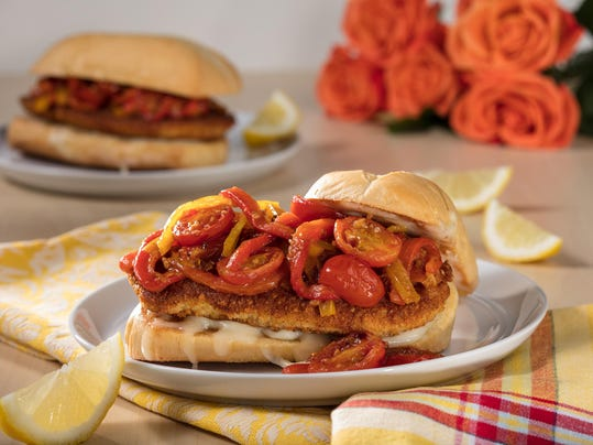 Hoagie roll stands up best to hearty chicken Parmesan sandwich