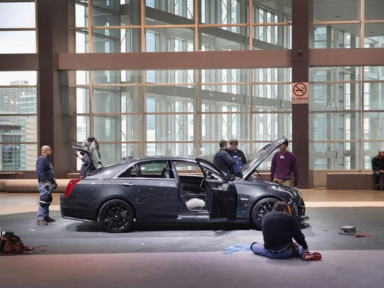 Preparations Underway For Start Of Chicago Auto Show