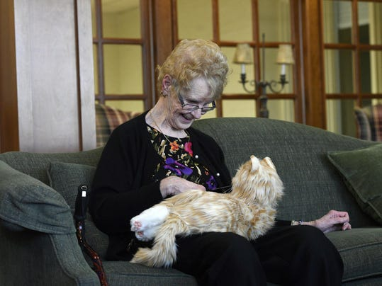 Animatronic pets at retirement homes a sign of how robots will contribute to our lives