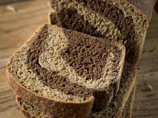 Marble rye breads add some style to our daily sustenance