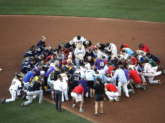 Lawmakers Play In Congressional Baseball Game One Day After Shooting Incident