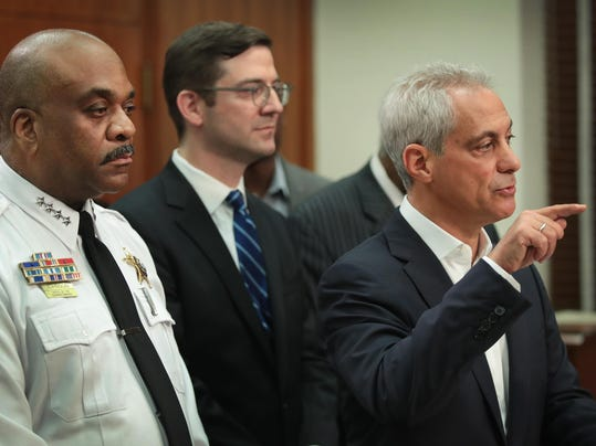 Chicago Mayor Rahm Emanuel Announces Lawsuit Against US Justice Department