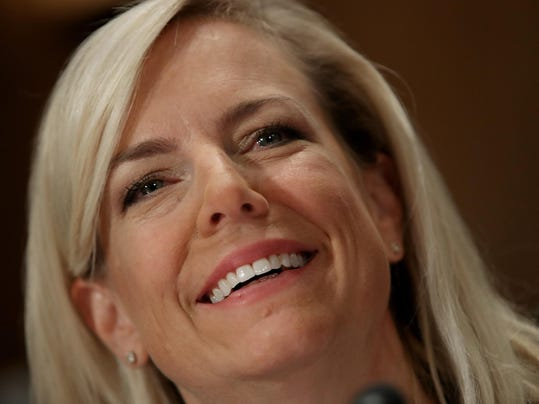 Senate Confirmation Hearing Held For Kirstjen Nielsen To Become Secretary Of Homeland Security