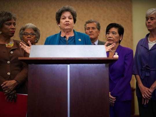 Female U.S. Reps Call For Investigation Into Trump's Sexual Misconduct