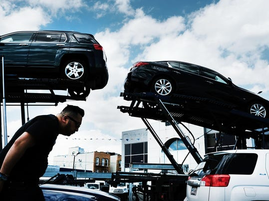 Major Auto Makers Report Declining Sales In April