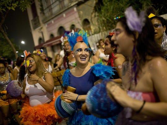 Brazil Carnival Women