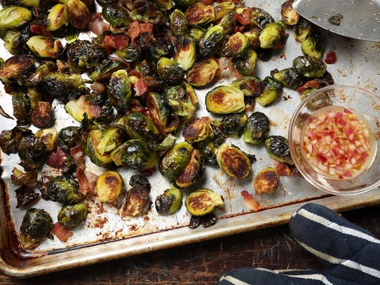 How to roast Burssels sprouts to crispy goodness