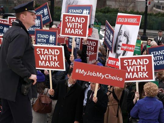 Supreme Court Hears Major Challenge To Union Membership In Janus v. AFSCME