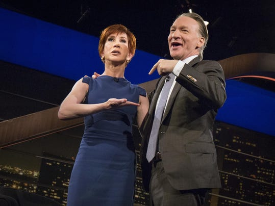 Bill Maher,Kathy Griffin
