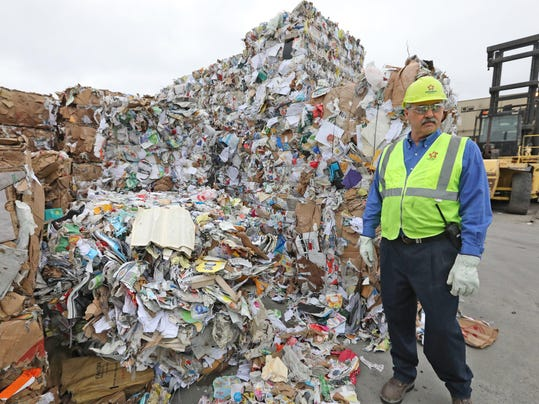 Some Seattle-area recylcing dumped in landfills as China's restrictions kick in