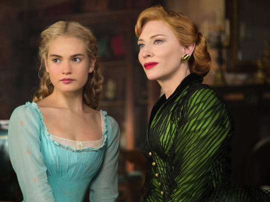 "Movie review: Stately ""Cinderella"" has no magic to it"