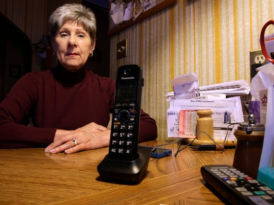 Phone companies would like to cut your landline cord for you