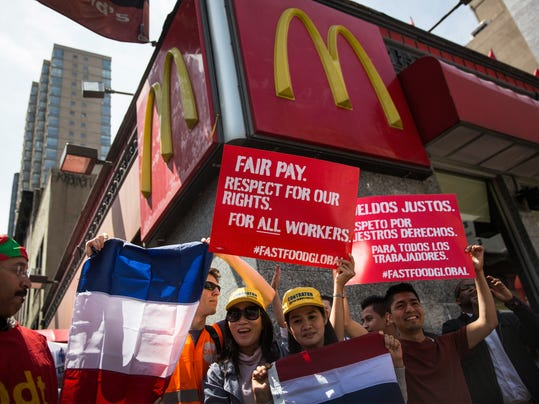 FILE: McDonalds Plans To Raise Worker's Pay By 10%