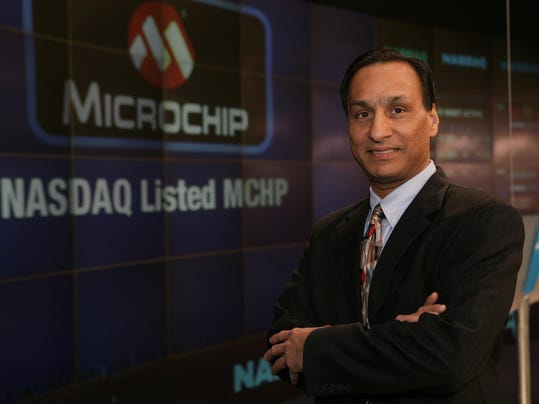 Steve Sanghi, Chairman and CEO, Microchip Technology. The Phoenix metro area lags in its concentration of ?advanced-industry? jobs, such as those at Microchip that pay well and could be critical for long-term economic growth, a new report warns.