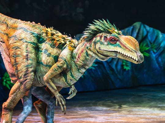 Theater-Walking with Dinosaurs