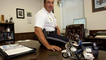 Chief of Police for the Dover Police Department Jim Hosfelt in 2010.