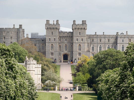 Windsor Castle in May 2018.