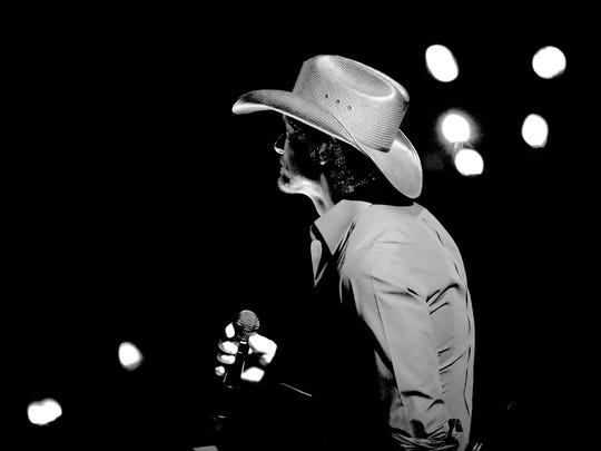 Tim McGraw performs during the 51st Academy of Country Music Awards at MGM Grand Garden Arena on April 3, 2016 in Las Vegas.