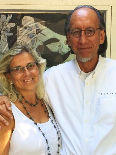Bill and Pilar Tonnesen.