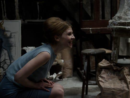 "Clémence Poésy stars in ""Final Portrait."""