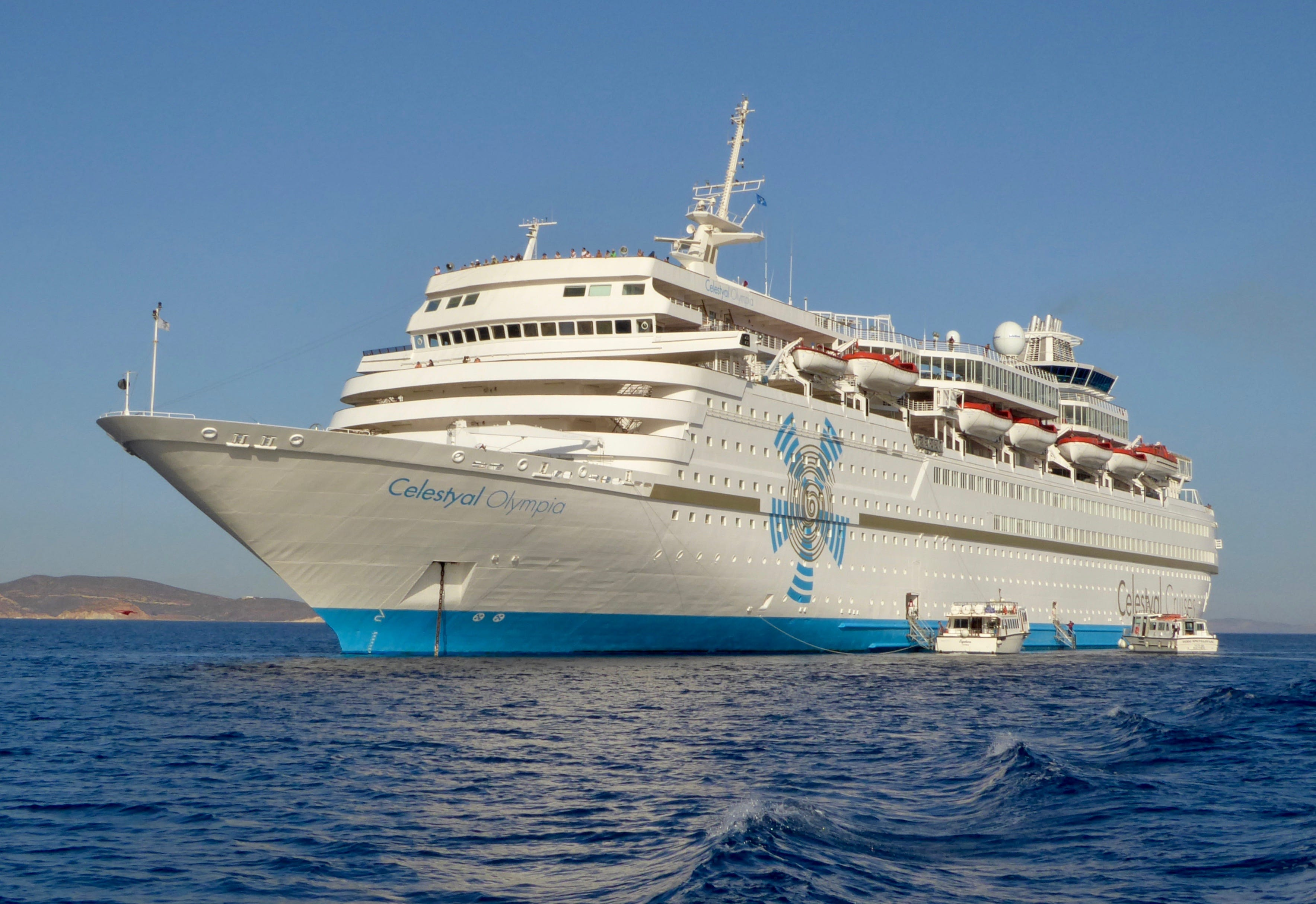 Celestyal Olympia A cruise ship that