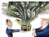 January's editorial cartoons
