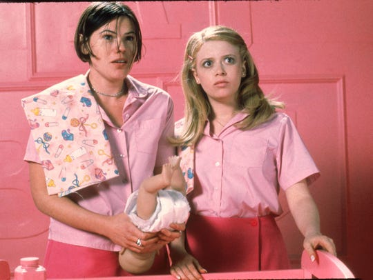 "Clea DuVall (left) and Natasha Lyonne star in ""But I'm a Cheerleader"""