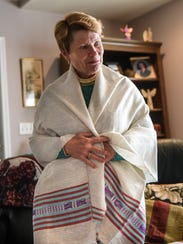 Judith Wood, who lives in Alden Place recently returned