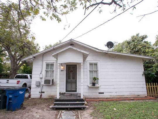 A guesthouse in New Braunfels, Texas, where Brad lived