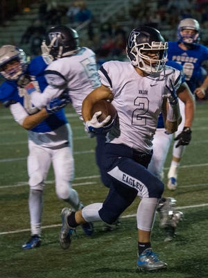 Valor Christian's Luke McCaffrey is considered the No. 2 recruit in Colorado and is expected to sign with Nebraska.