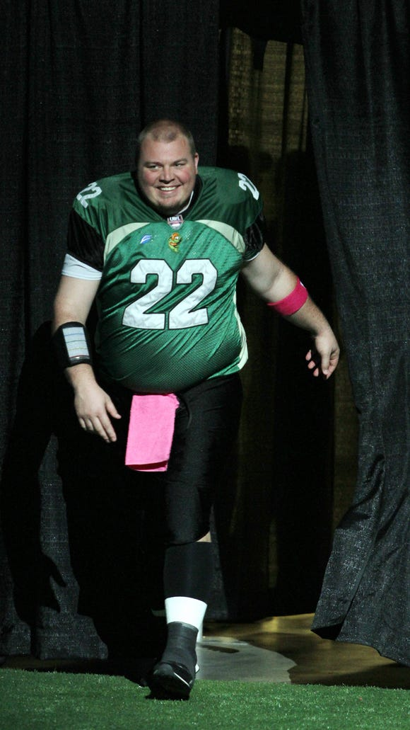 Jared Lorenzen of the Northern Kentucky River Monsters