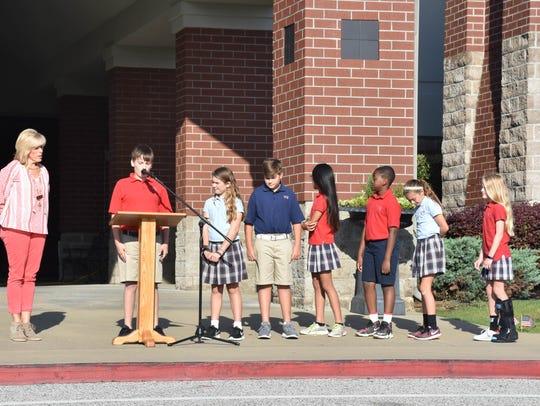 University School of Jackson Lower School students