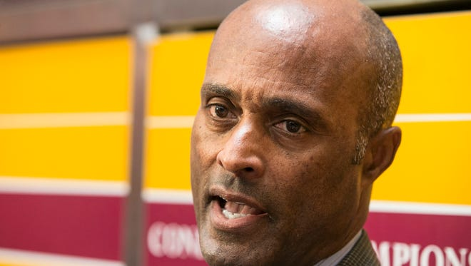 ASU Athletic Director Ray Anderson discusses the resignation of baseball coach Tim Esmay.