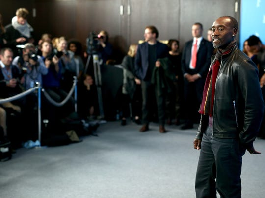 Don Cheadle attends the 'Miles Ahead' photo call during