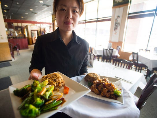 Connie Zhu brings General Zao's chicken and stir-fried