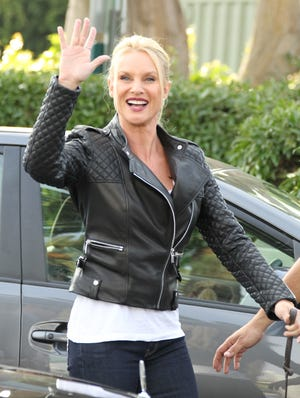 """Nicollette Sheridan, shown in November, gets a hearing in April on her case against """"Desperate Housewives."""""""