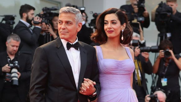 George Clooney on selling the twins' photos: 'We'd like to not do it' 636401518252770945-GTY-842164980-93496775