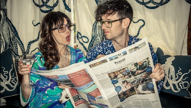 """Newlyweds Natasha Leggero and Moshe Kasher will make a tour stop at the Ace Hotel and Swim Club in Palm Springs on June 8 as part of  """"The Honeymoon Tour."""""""